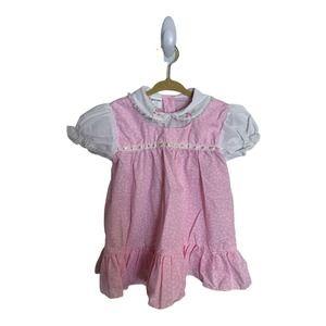 Vintage COLOR KIDS  Dress  Embroidered  Size 24